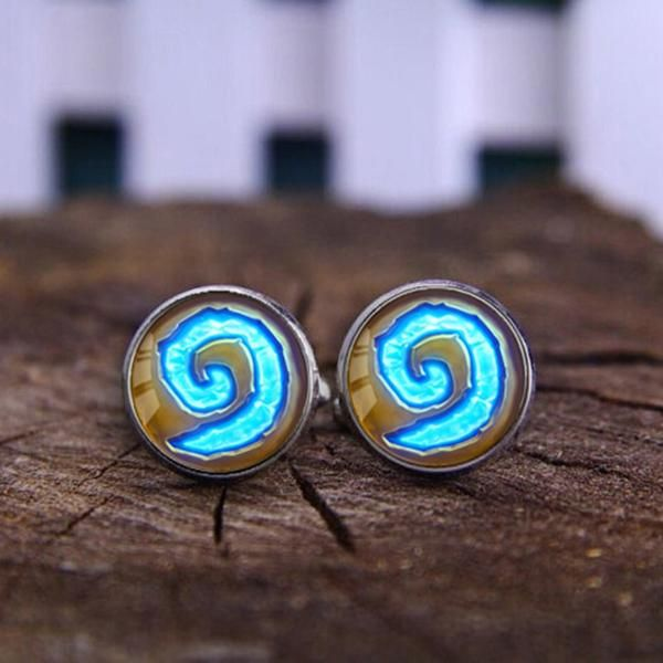 Get this WoW World of Warcraft Hearthstone Cufflinks and let the world know you're a WoW fan! Make a gift for yourself or your friend, everyone will be happy to have it. INTERNET EXCLUSIVE - NOT SOLD
