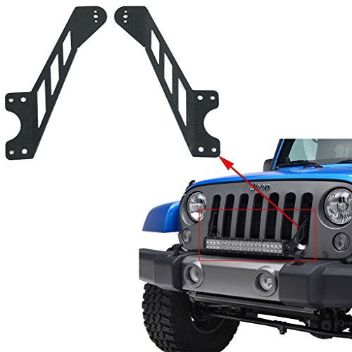 "E-Autogrilles Jeep JK 20"" LED Light Bar Grille Brackets"