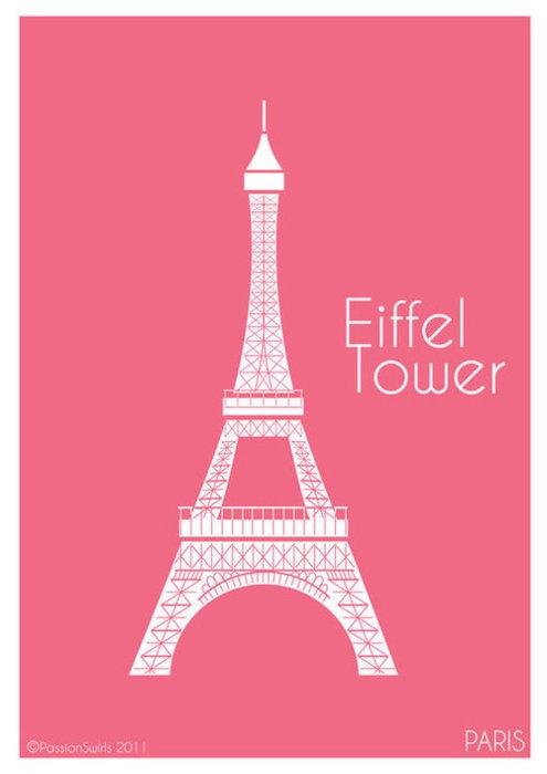eiffel tower paris pink - photo #10