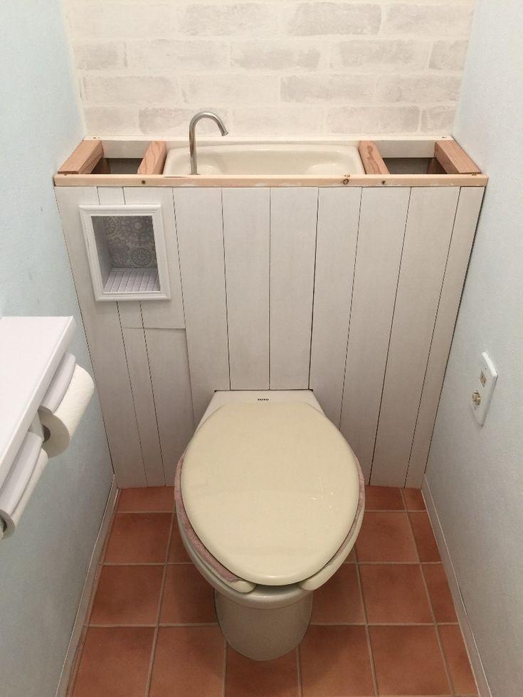 トイレ改造計画!〜タンクレス風にしよう|LIMIA (リミア)