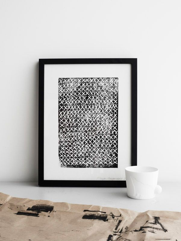 Poster Kus je Black - Vorstin - BijzonderMOOI* Dutch design online