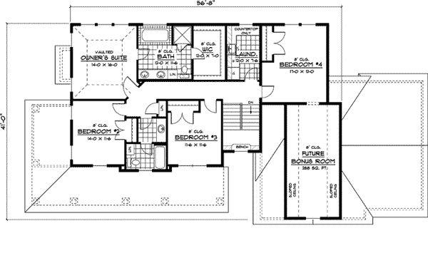 Mason Lake Southern Farmhouse Plan 091D-0404   House Plans and More