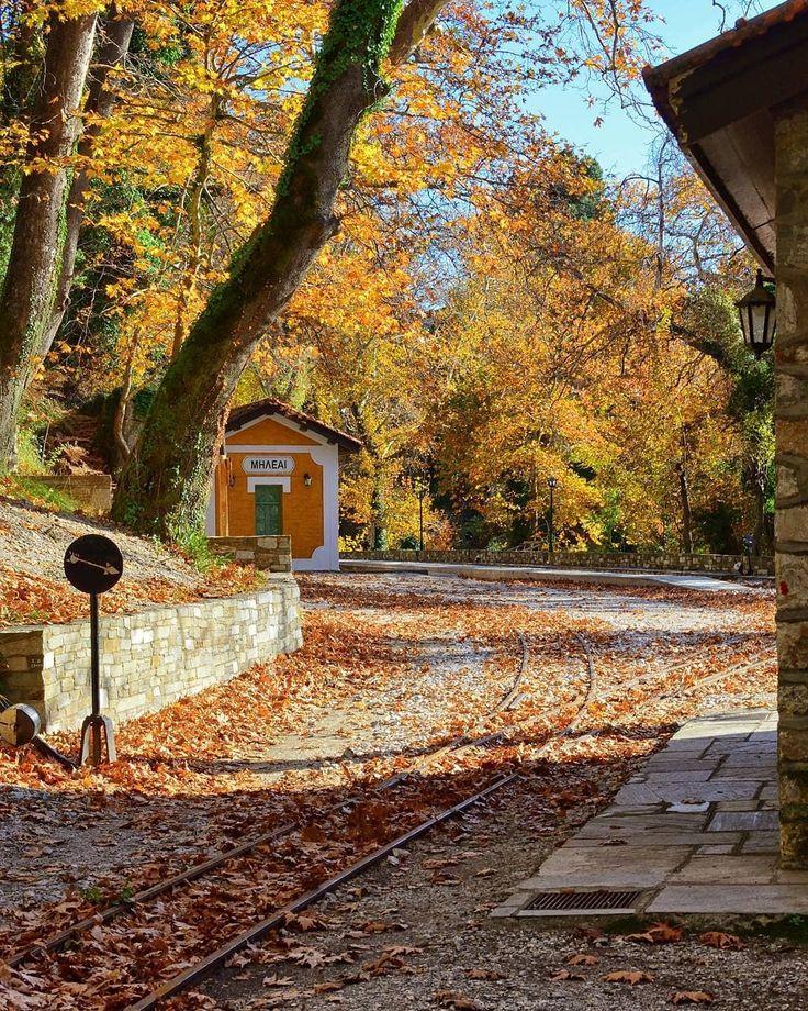 Visit Greece | Walk along train tracks to explore the beauties of Pelion!  #VisitGreece #Greece #Pelion @petroskaz