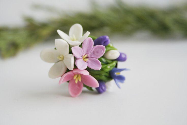 Orecchini+fiore,+Orecchini+rosa,++ortensie+di+DecorUA+su+DaWanda.com