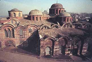 Pantokrator Monastery Church (Zeyrek Kilise Cami) 1120 - 1136. Western Exterior. Unkapanı, Zeyrek Istanbul