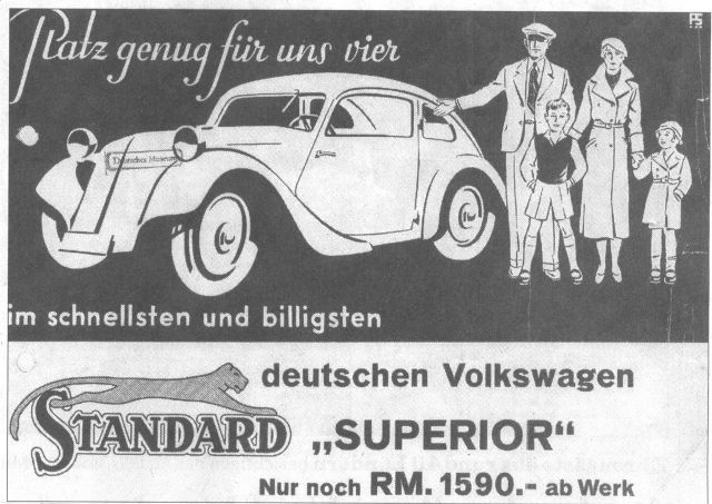 1933 Model Standard Superior Newspaper ad from January 1933