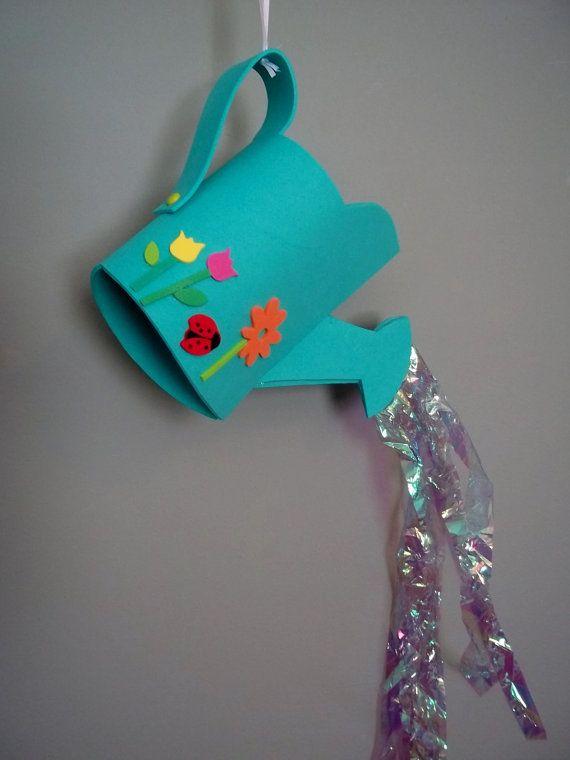* WATERING CAN Craft Kit van kazsmom op Etsy