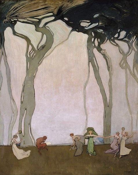 Sydney Long, Fantasy, circa 1916-17