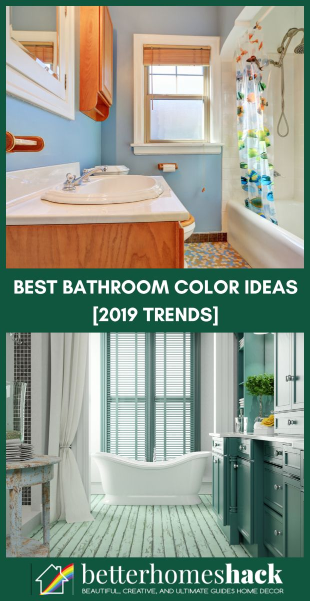 Bathroom Color Ideas Best Paint And Color Schemes For
