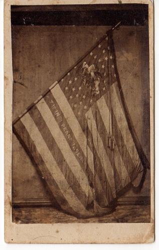 Civil War Battle Flag of the 7th Pennsylvania Reserves (36th PA Volunteers)