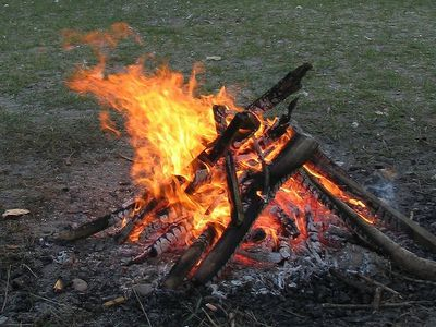 Do you know how to collect and stack firewood properly so it will start and stay lit? This post goes through how to build it properly and why it works.