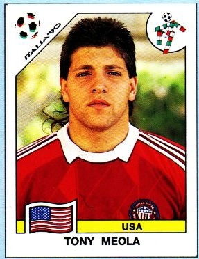 Tony Meola, USA National Team goalie in 1990 and 1994 World Cups, and MLS player from 1996-2006.
