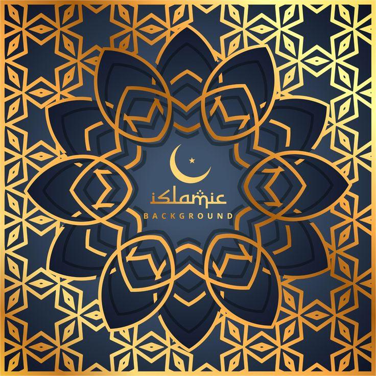 Eid Mubarak Greeting Card 2017 New  http://www.cgvector.com/50-vector-graphics-eid-greeting-card-and-wallpaper/