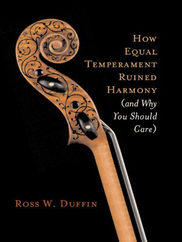 "How Equal Temperament Ruined Harmony (and Why You Should Care):   <p>""A fascinating and genuinely accessible guide....Educating, enjoyable, and delightfully unscary.""—<em>Classical Music</em></p><br />What if Bach and Mozart heard richer, more dramatic chords than we hear in music today? What sonorities and moods have we lost in playing music in ""equal temperament""—the equal division of the octave into twelve notes that has become our standard tuning method? Thanks to <em>How Equal Tem..."