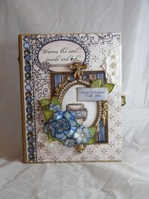 Designs by Shellie: DELUXE MINI ALBUM USING HEARTFELT CREATIONS COFFEE TALK PAPER COLLECTION
