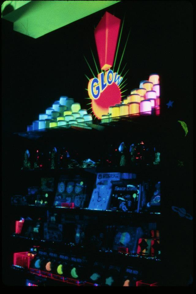 Glow store Universal City Walk