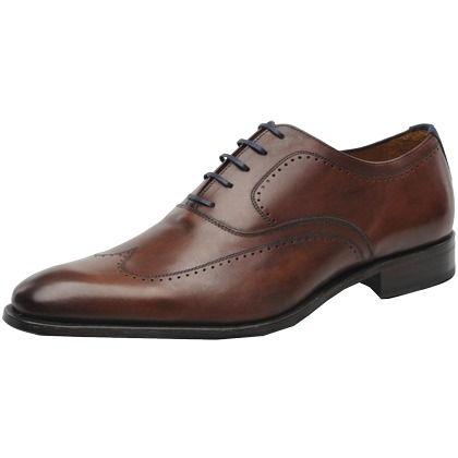 Schnürschuhe mit Nähten - Elegante braune Schnürschuhe von Marvin&Co. Diese Schuhe begeistern durch ihre Schlichtheit. Besonders gut kommen sie in Kombination mit einem schicken Anzug zur Geltung. - ab 199,00 €