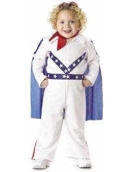 Child's Toddler Daredevil Halloween Costume (2-4T)