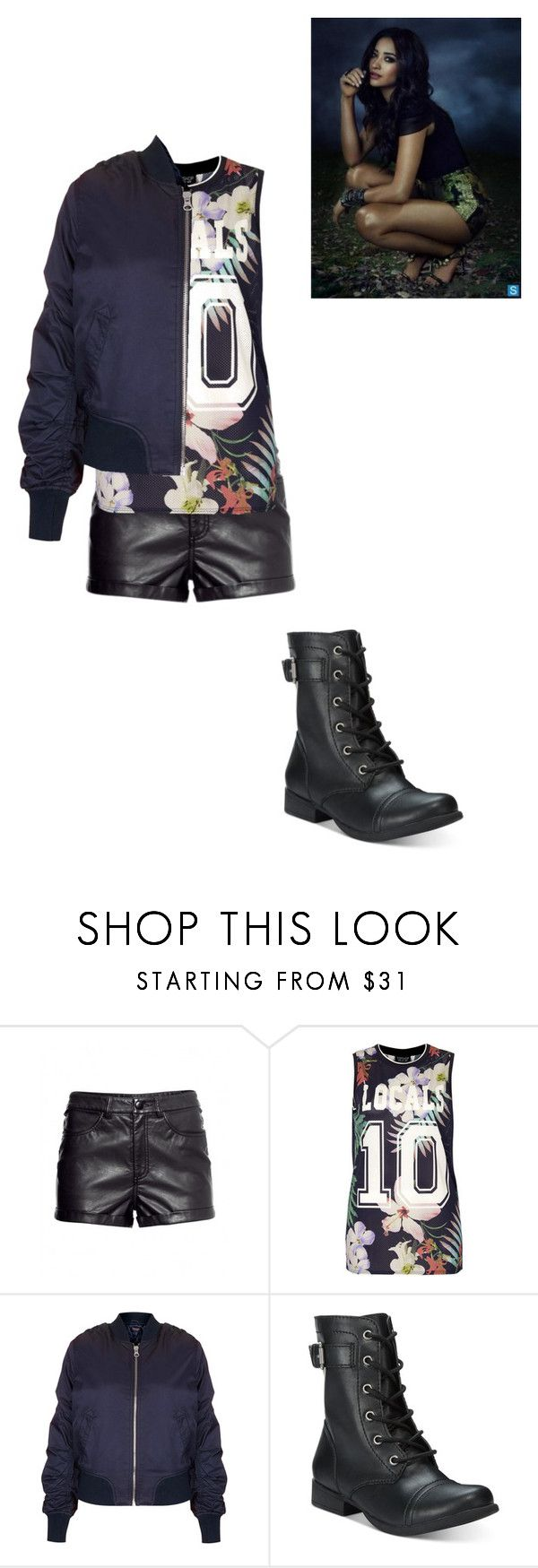 """""""Emily Fields"""" by teenriverliar98 on Polyvore featuring Topshop and American Rag Cie"""