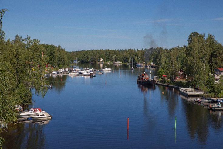 Финляндия - Ловля форели - Озеро Сайма