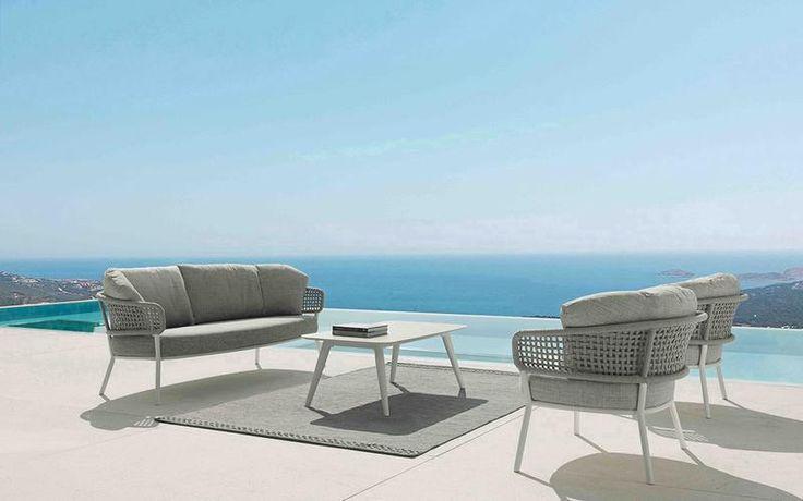 Best Moon Alu Lounge 4Pc Kit Set Outdoor Furniture Sets 400 x 300