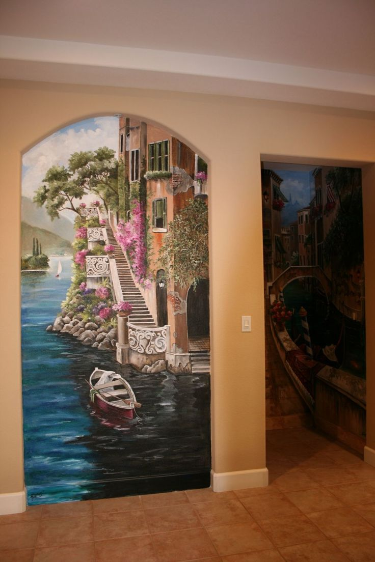 Bathroom mural ideas - Find This Pin And More On Wall Murals