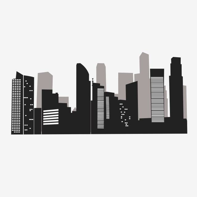 City Buildings Group Silhouette Vector City Clipart Building Silhouette Black And White Building Png Transparent Image And Clipart For Free Download In 2021 Building Silhouette Black And White Building City Buildings