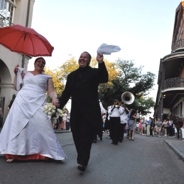 Our New Orleans Wedding Second Line