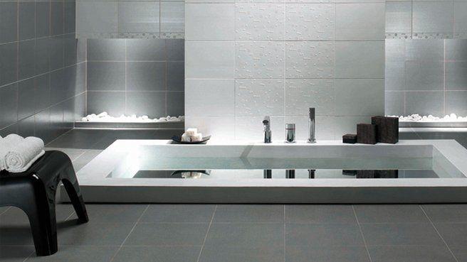 une baignoire encastree au sol salle de bains pinterest. Black Bedroom Furniture Sets. Home Design Ideas