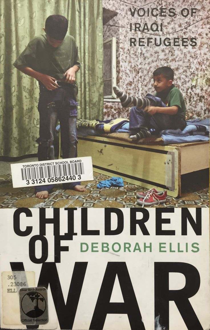 Children of War: Voices of Iraqi Refugees (305.23086 ELL) by Deborah Ellis