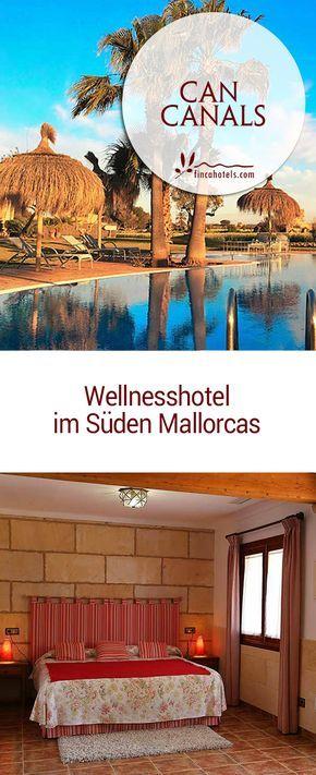 Im landwirtschaftlich geprägten Süden von Mallorca befindet sich in ruhiger Umgebung und fernab des Massentourismus das kleine Landhotel Can Canals. Mit eigenem Spa-Bereich und Hallenbad ausgestattet, ist das kleine Hotel ideal, um dem Winter zu entfliehen und entspannte Tage bei milden frühlingshaften Temperaturen auf Mallorca zu genießen.