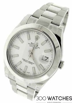 Rolex 116300 Datejust II Swimpruf Stainless Steel Automatic Watch