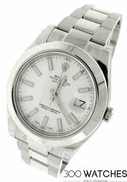 Rolex 116300 Datejust II Swimpruf Stainless Steel Automatic Watch