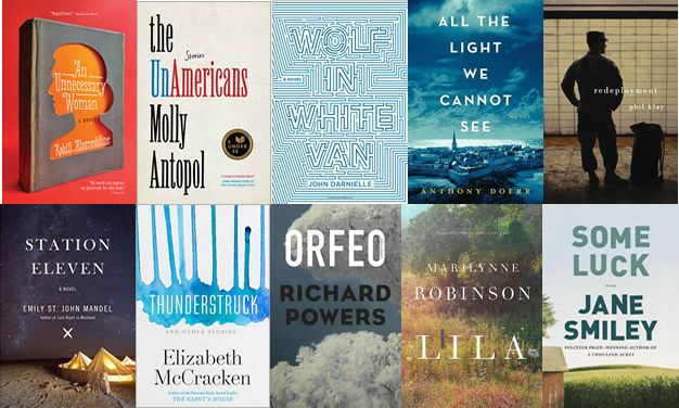 2014 NBA FICTION LONGLIST. You'll be able to find some of these in our collection!