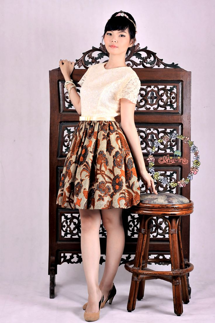 Burung Cikalang Coklat Dress | DhieVine | Redefine You