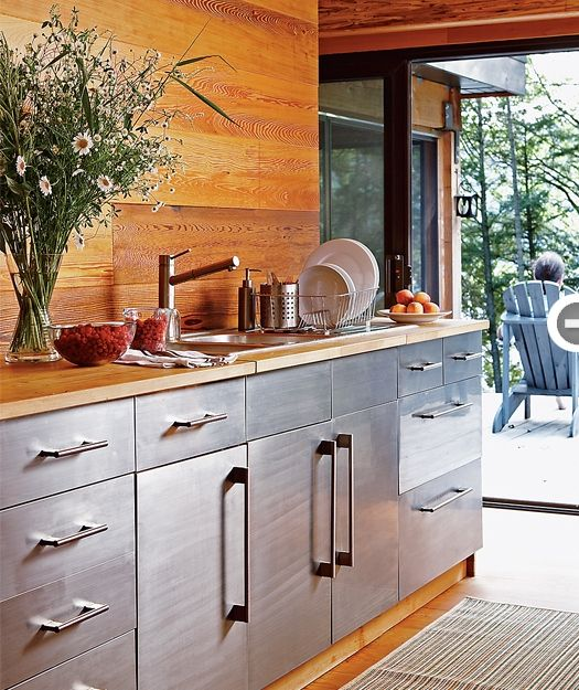 Rustic Modern Kitchen Cabinets: Best 25+ Rustic Modern Cabin Ideas On Pinterest
