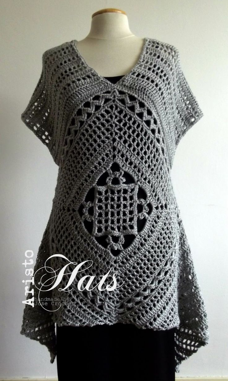 José Crochet: My first tunic - M'n eerste tuniek