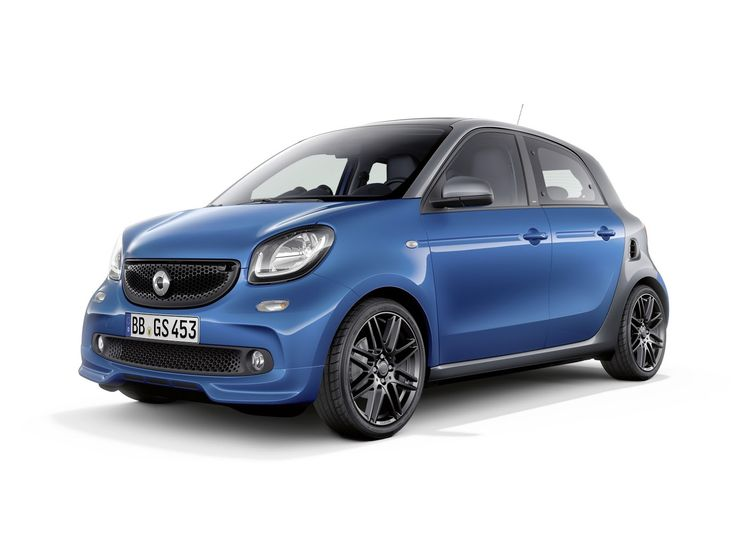 Brabus Packages Up Smart ForTwo & ForFour, Still No Performance Versions