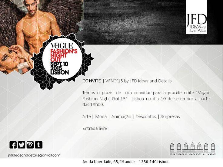 VFNO'15 by JFD Ideas and Details   Estaremos à vossa espera!!!