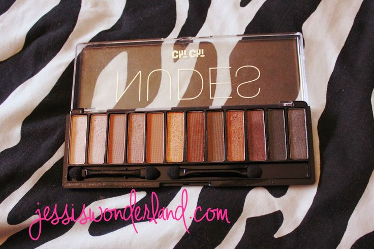 Chi Chi Cosmetics Nudes Palette - UD Nudes palette dupe!!