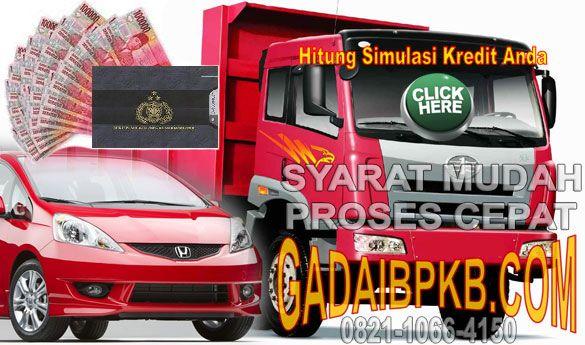 Pinjaman Uang Tunai Jaminan Gadai BPKB Motor Mobil