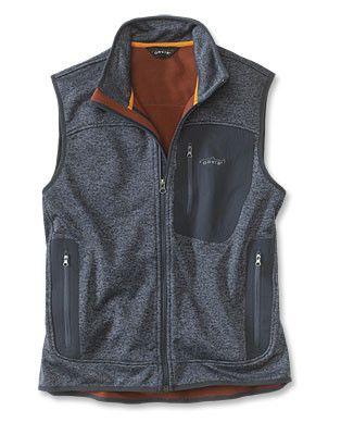 Windproof Sweater Fleece Vest