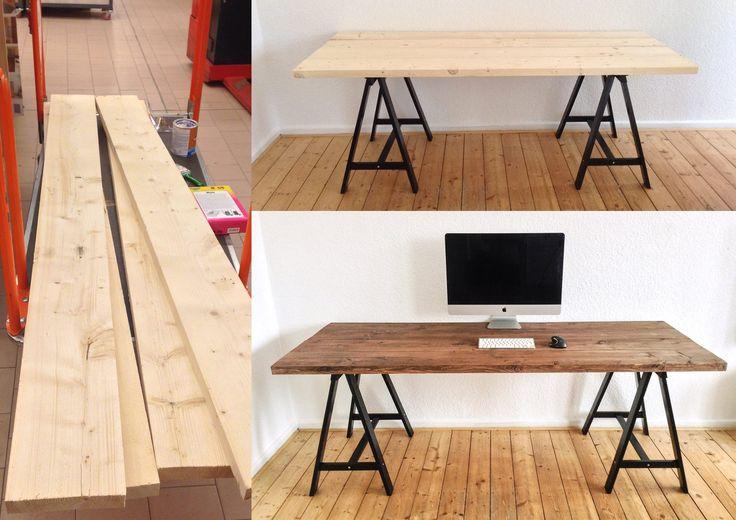 Die besten 17 ideen zu b rodesign auf pinterest for Schreibtisch 2m