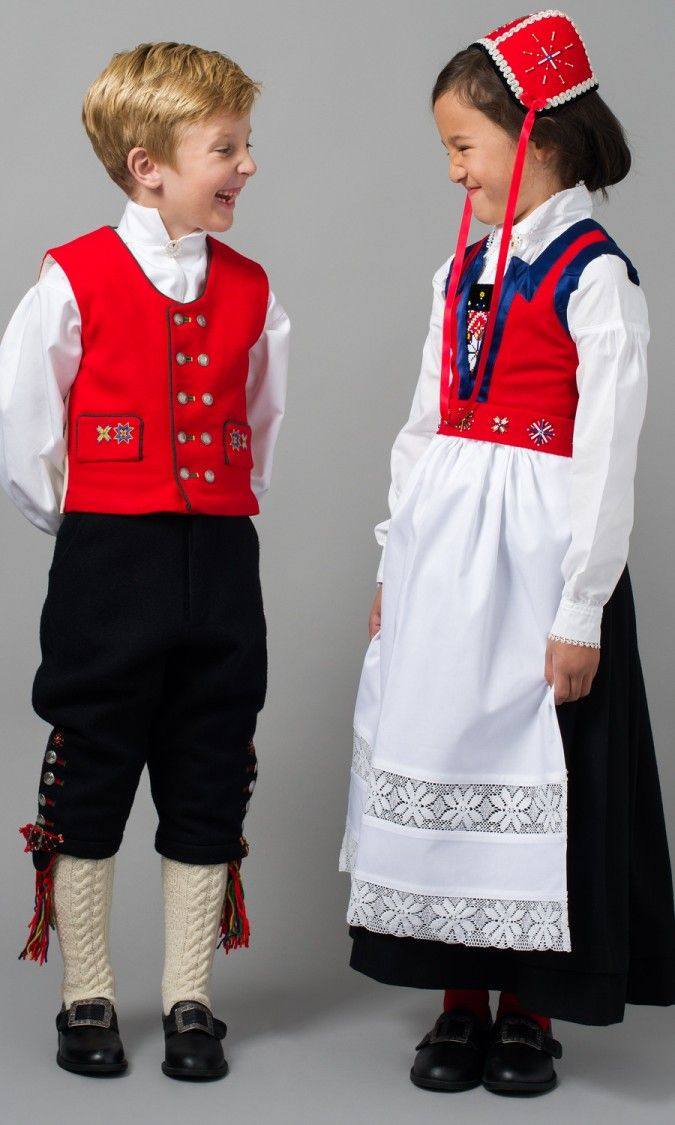 Norwegian National Costumes