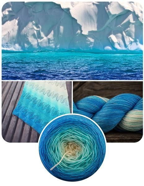 The Blue Brick Ombré series is a collection of long-run gradient yarns, hand dyed to match photography, and objects from the natural world. This skein will ship with the photograph used as the main product image. Ombré yarns may be ordered in any of the bases listed below. Please note that these yarns are dyed-to-order, and that, from dyeing to delivery may take up to three weeks.      Killarney Sock 80/20 Superwash Merino/Nylon500 yards/457 metres per skein  Niagara MCN Sport7...