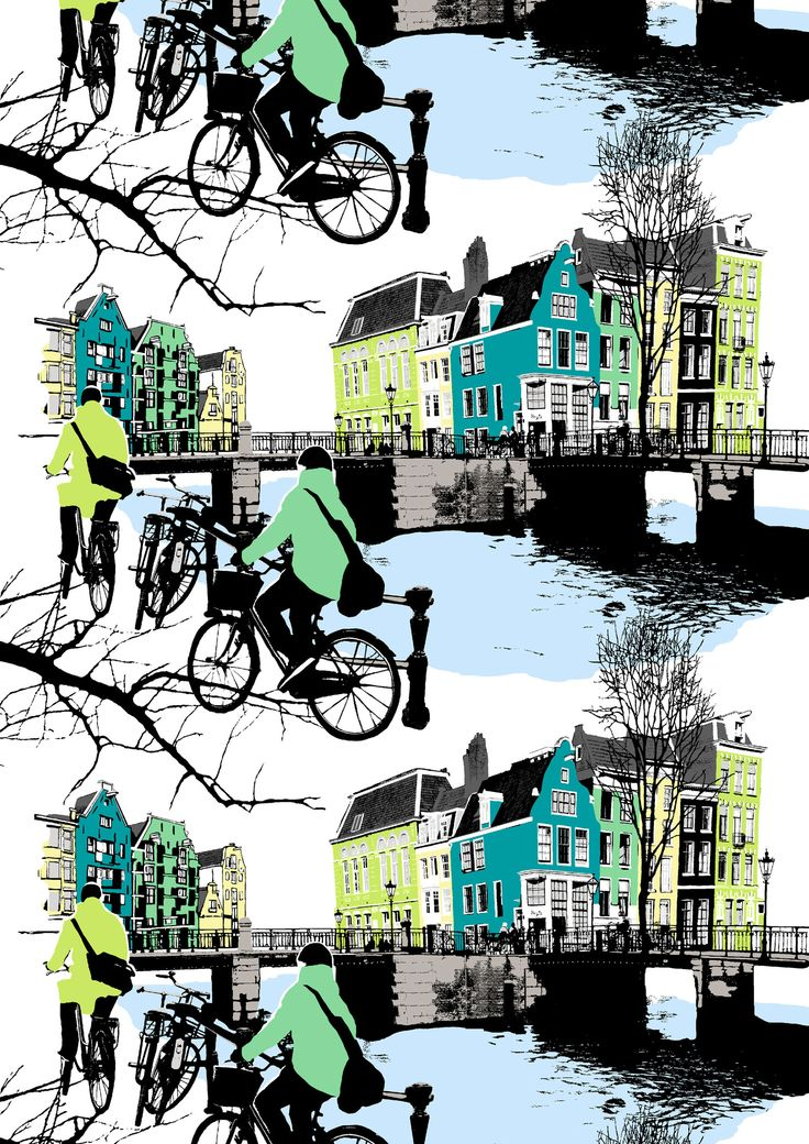 Amsterdam, green by Riina Kuikka
