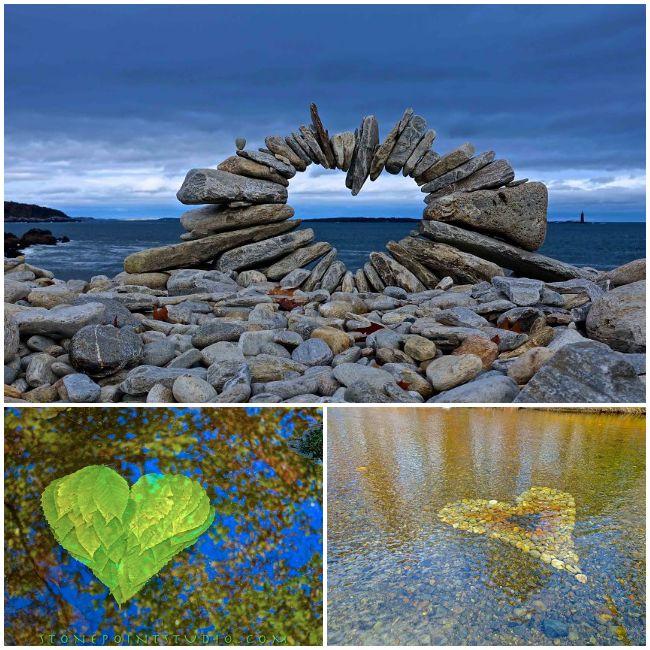 L'artista che crea queste splendide opere è David Allen, un trentanovenne del Maine che ha trasformato la sua curiosità in arte. Ha un notevole talento: invece di pennelli o scalpelli usa ciò che trova in natura: pietre, foglie, bastoni e altro ancora. E invece di un dipinto su una tela appesa ad una parete, la sua arte la si trova all'aperto, in mezzo alla natura.  LEGGI: http://www.greenme.it/spazi-verdi/ethicme/2088