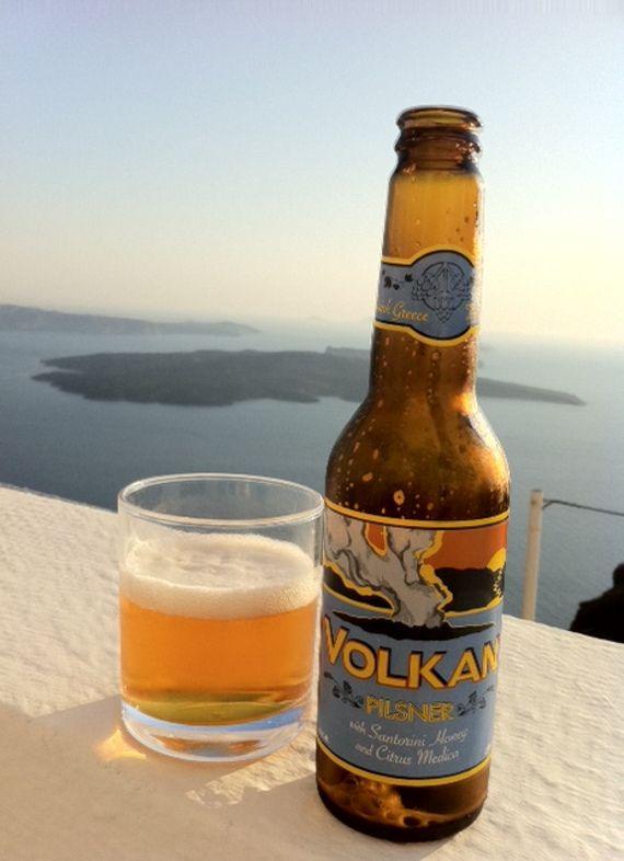 A Greek beer, please!