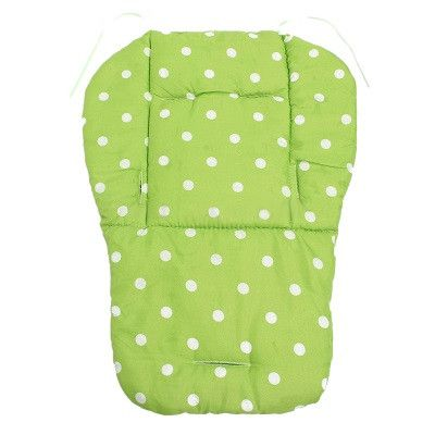 Comfortable Colorful Baby Infant Stroller Seat Pushchair Cushion Cotton Mat White Dot Seat Cushion FCI#
