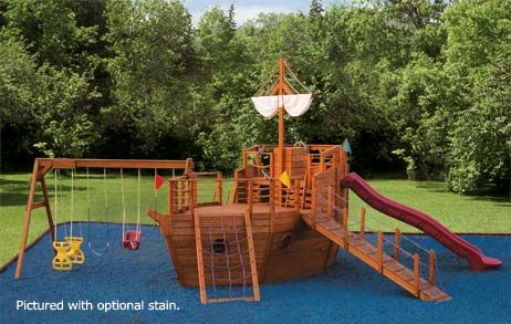 Youngster's Yacht - Outdoor Ship Playset for Children